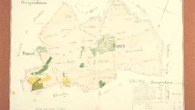 Barcy cadastre 1834